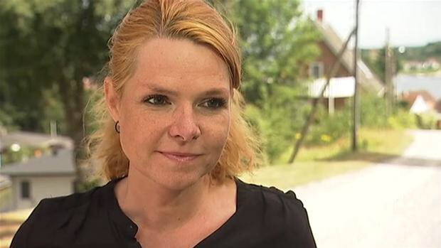 kvindelig fotograf Budge Göransson nøgen